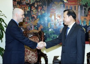 Vietnamese Deputy Prime Minister, Vu Van Ninh, hosts Kim Thompson, CEO of Kraig Biocraft Laboratories (OTC: KBLB) to discuss possibility of establishing Monster Silk production in Vietnam